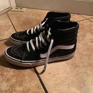 Van high top sneakers
